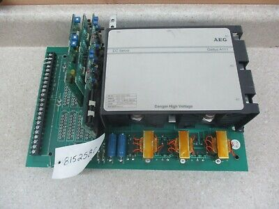 Aeg Gettys Dc Servo Controller Drive 240v 815258c Used