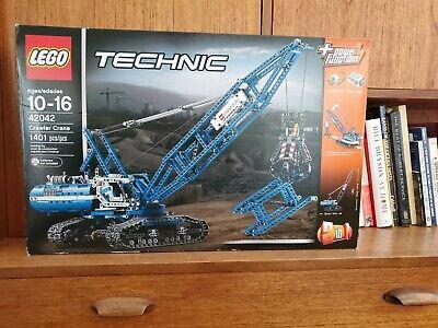 LEGO Technic 42042 Crawler Crane. New, box never opened.