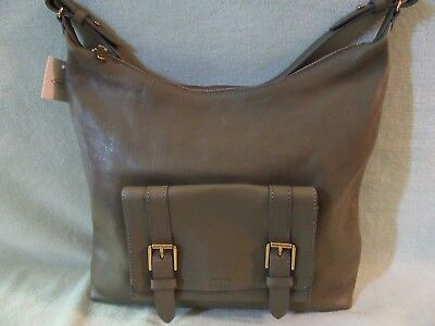 (Fossil Cleo Olive Soft Leather 1 Strap Shoulder/Hobo Bag Really Nice NWT $198)