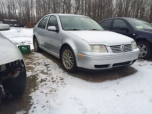 Jetta 1.8t Wolfsburg for Parts or Project