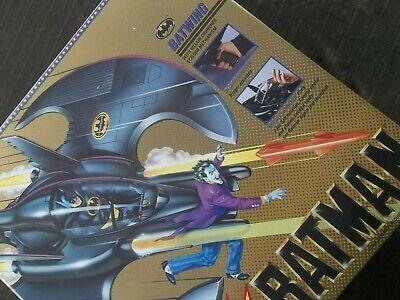 "Vintage 1989 TOY BIZ BATMAN Villain Cruncher ""BATWING"" Vehicle-SEALED IN BOX"