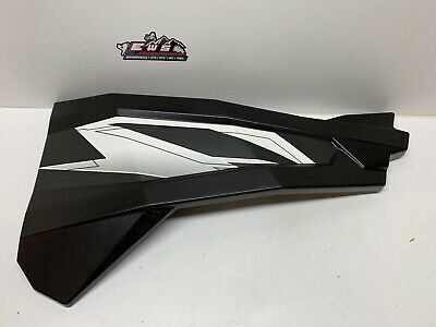 POLARIS RZR, ACE RIGHT SIDE DOOR PANEL BLACK/WHITE