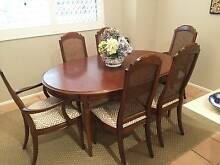 Mid-century Drexel 8 seat Dining Table, Chairs and Buffet Hamilton Brisbane North East Preview