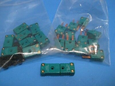 Johnson Matthey Type R Thermocouple Miniature Quick Release Lot Of 9 Mf New