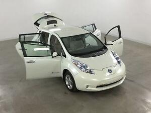 2011 Nissan LEAF SL Quick Charge*GPS*Volant/Sieges Chauffants*