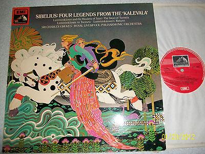 Sibelius Four Legends From The Kalevala Lemminkainen RLPO Sir Charles Groves TAS