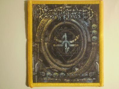 Decaptiated - The Negation Sublimated Patch BENEDICTION GOD DETHRONED DISMEMBER