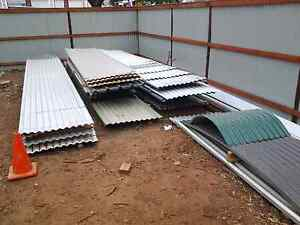 Used roofing iron sheets, colorbond corrugated trimdek Lytton Brisbane South East Preview