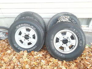 tires and rims from a gmc canyon Belleville Belleville Area image 1