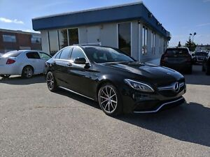 2016 Mercedes-Benz C-Class AMG C 63-Low KMS-Lowest Price