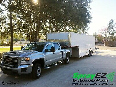 Spray Foam Rig Packages For Sale Featuring Pmc Ph-40 Gooseneck Trailer