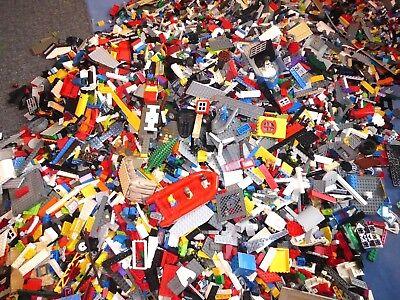 Lego 200 Bausteine Basic Steine Grundsteine gemischt  Rot Grün Schwarz Weiß Baukästen & Konstruktion