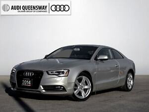 2014 Audi A5 2.0 Komfort|Audi Certified|AWD|No Accidents