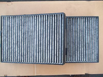 Cabin Air Filter Set Charcoal Carbon For BMW E39 525I 528I 530I 540I M5 138