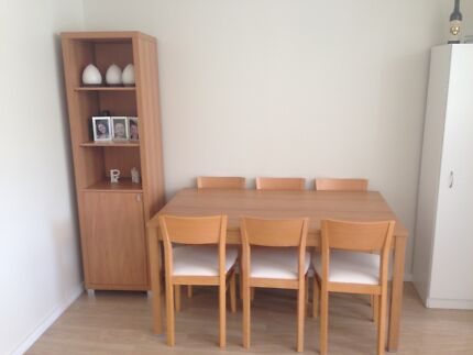 6 seater timber Denistone Ryde Area Preview