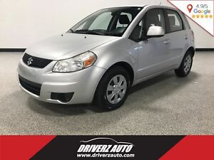 2011 Suzuki SX4 JA CLEAN CARPROOF, A/C, 60/40 SPLIT SEATS