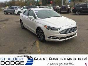 2017 Ford Fusion SE AWD | HEATED LEATHER | BACK CAM | SUNROOF
