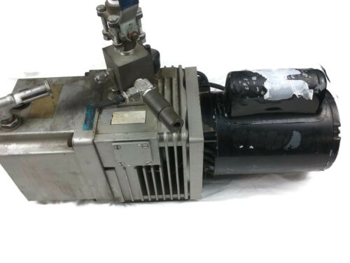 High Vacuum Pump Edwards EDM6 GE Motor 5KC37NN76X Thermally Protected Industrial