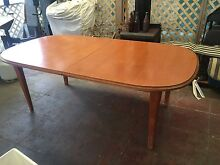 Extendable Timber Dining Table Fairfield Fairfield Area Preview