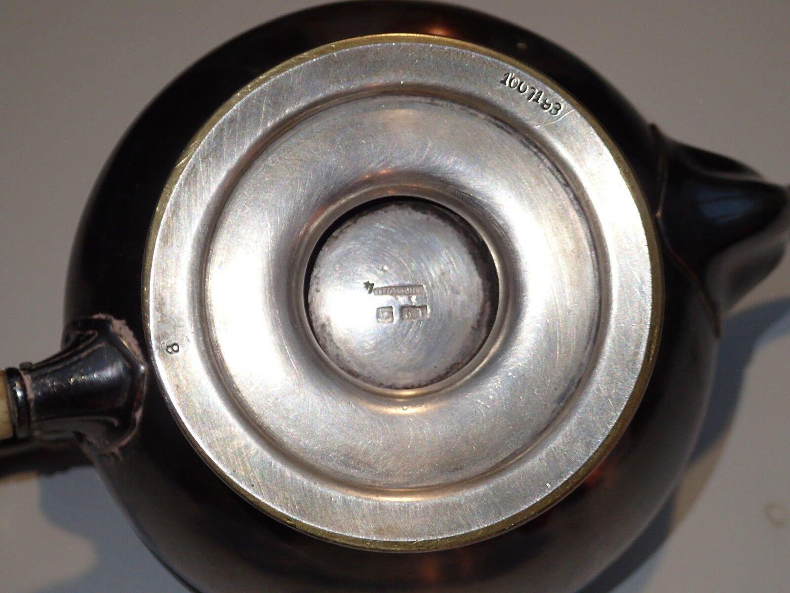 Cafetiere theiere metal argente christofle