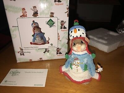 """Charming Tails """"THANKS!! IT FITS PERFECT""""  DEAN GRIFF NIB Christmas Sweater"""