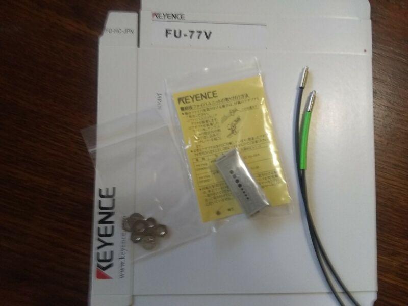 New Keyence FU-77V Fiber Optic Sensor FU77V.  Free shipping