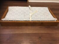 Solid Wood Baby Change Table — Orleans Area