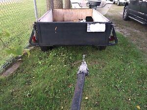 4x6 box trailer