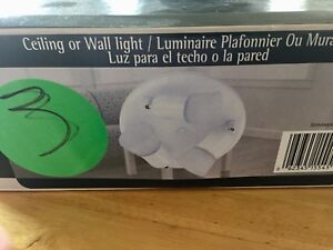 Light for ceiling or wall