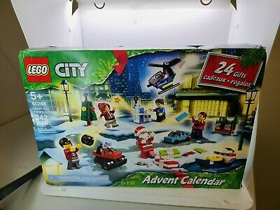 Lego City 60268 Christmas Advent Calendar 342 Pieces Building Toy Playset