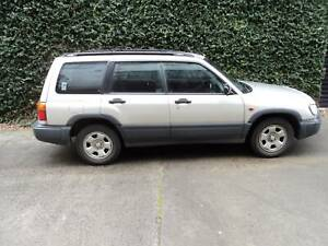 1999 Subaru Forester GX Manual SUV Collingwood Yarra Area Preview