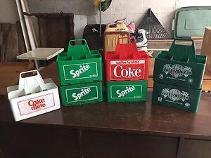 Caisses de liqueurs vintage