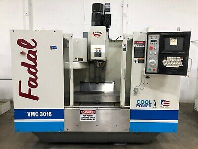 Fadal Vmc 3016ht Cnc Vertical Machining Center Mill Model 904-1 1998