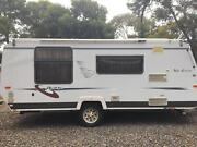 Avan 2004 Erin 17ft Tare 1160kgs - Pop Top in very good condition Fairview Park Tea Tree Gully Area Preview
