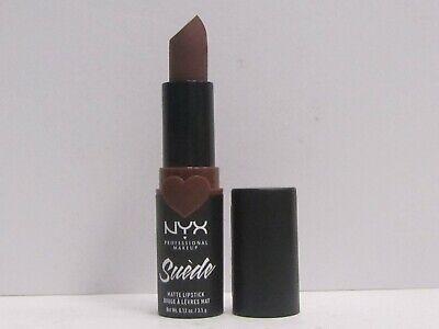NYX Suede Matte Lipstick SDMLS07 Cold Brew  Brand New