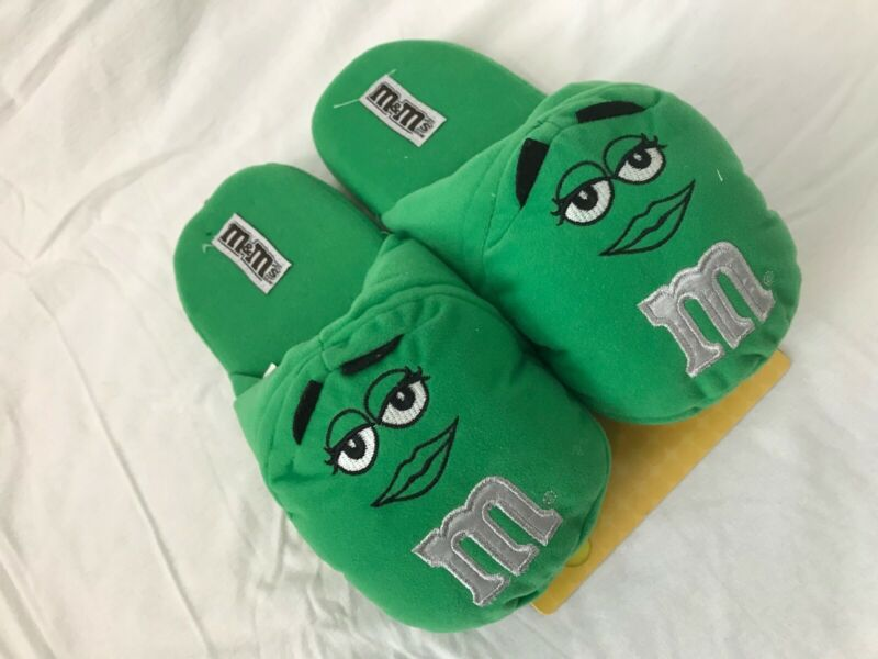 M&Ms Collectables Slippers - Green M&M