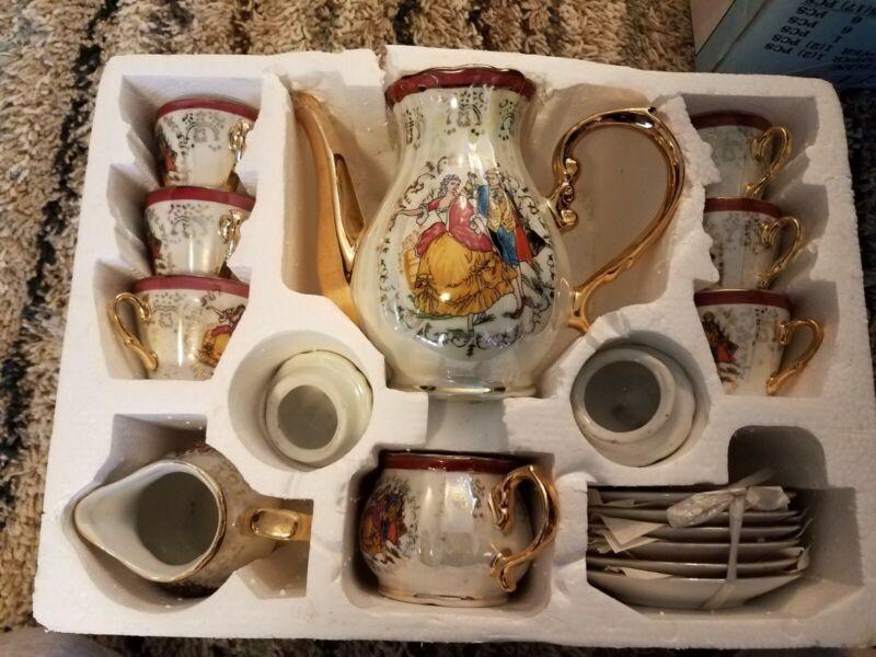 15 Pcs Coffee/Tea Set