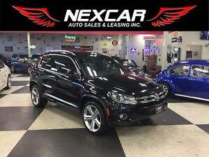 2015 Volkswagen Tiguan 2.0TSI HIGHLINE NAVI AWD P/START LEATHER