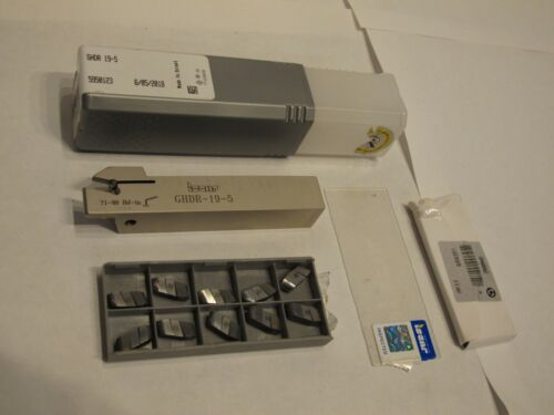 ISCAR TOOLHOLDER GHDR 19-5 For Turning, Grooving & Parting with carbide inserts