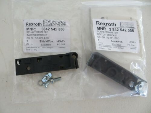 2  Rexroth Bosch 3 842 542 556 Sensor Switch Bracket 3842542556