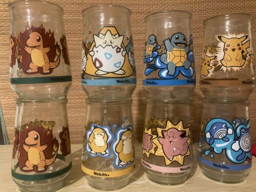 8 Vintage Collectible Nintendo Pokemon Welch