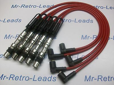 RED 8MM PERFORMANCE IGNITION LEADS FOR VW GOLF 2.3 V5 4 MOTION QUALITY BUILT HT
