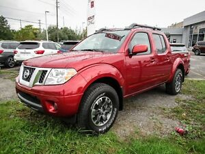 2017 Nissan Frontier 4X4 C/C PRO-4X LEATHER