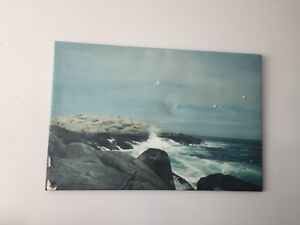 Frameless Wall Art - Peggy's Cove, NS