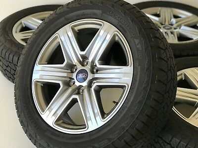 "20"" Ford F-150 Expedition 2018 2019 OEM FX-4 Rims Wheels Tires Platinum 10172"