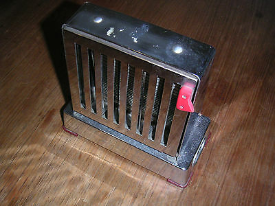 Rowenta Designer Klapptoaster Edelstahl Toaster 50er 60er