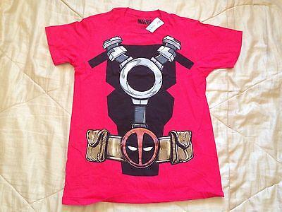 Marvel Deadpool Red Costume Cosplay Body Suit Vintage - Deadpool Bodysuit