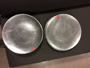 50 silver charger plates