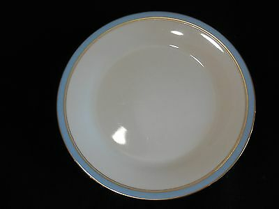 "Vintage Noritake 7279 ""Ivory and Azure"" 10-1/2"" Dinner Plates - Set of 4"