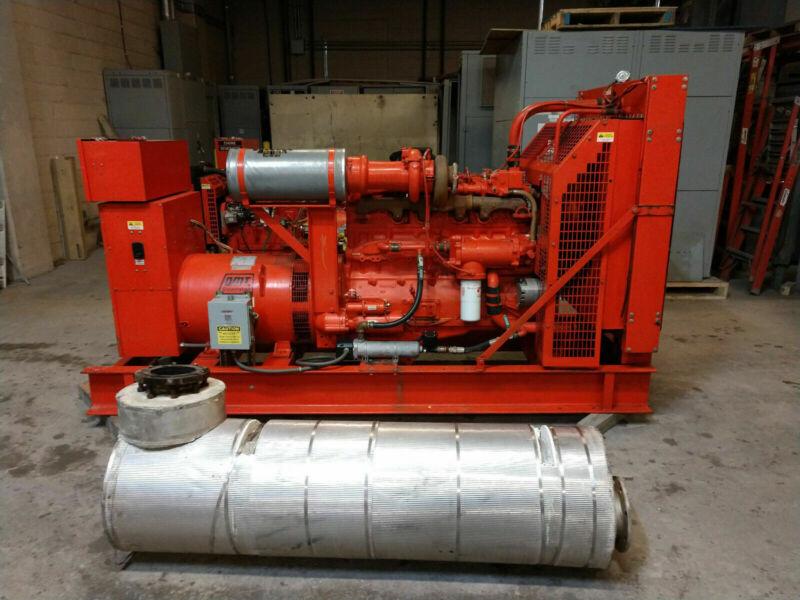 180KW Cummins NT-855 G2 480V/277v TURBO Diesel Generator 175KW 170KW 160KW